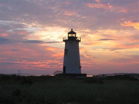 harbor lights lighthouses edgartown harbor light
