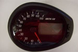 Arctic Cat 2006 Xt 650 Prowler H1 Speedometer Lcd Digital