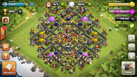 clash  clans tips town hall level  layouts