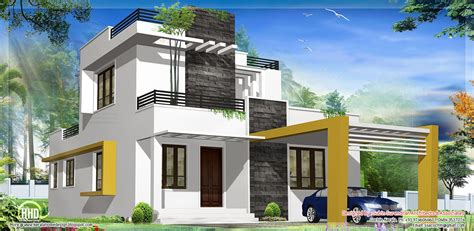 sqfeet beautiful modern contemporary house   house balcony design kerala house