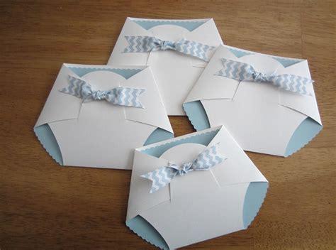 Diy Baby Shower Invites - handmade baby shower invitation shape by