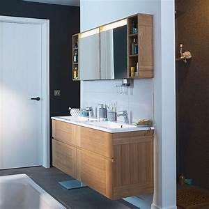 Prix Meuble Salle De Bain : prix double vasque salle de bain fabriquer un meuble de salle de bain colonne rangement salle de ~ Teatrodelosmanantiales.com Idées de Décoration