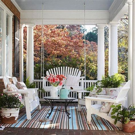 front porch rugs top 25 patios and porches from bhg messagenote
