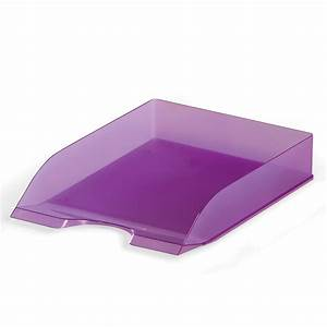 bm durable letter tray 289977 bm With purple letter tray