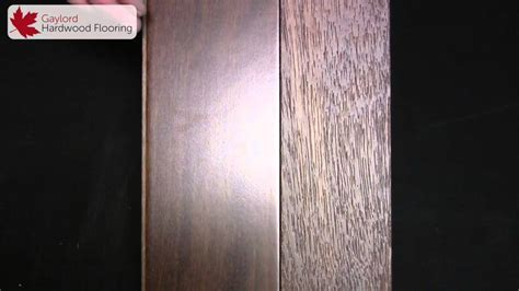 Wire Brushed Distressed Hardwood Flooring   YouTube
