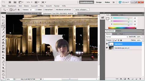 photoshop personenobjekte ausschneiden und  umgebung