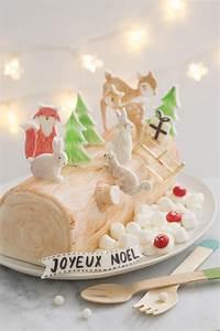 Decoration Pour Buche De Noel : d corer une b che de no l avec des animaux en sucre ~ Farleysfitness.com Idées de Décoration