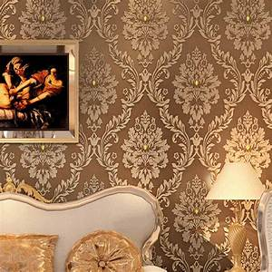 Wonderful Gold Wallpaper For Walls