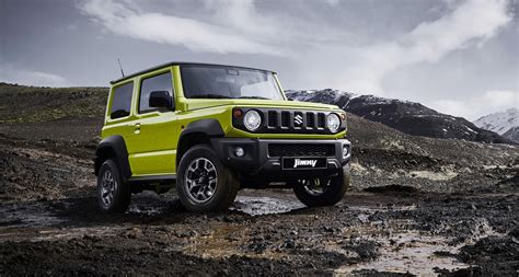 Suzuki 4wd by The New Suzuki Jimny Is Coolest 4wd You Won T Be Able To Buy