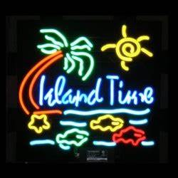 Island Time Neon Sign FREE SHIPPING