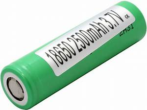 Samsung 18650 Unprotected Lithium Ion Flat Top Battery