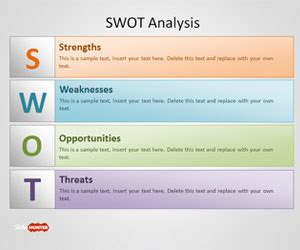 swot powerpoint templates   powerpoint
