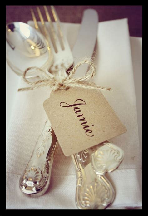 place ideas details about 12 wedding place cards personalised shabby chic vintage style kraft name 1002