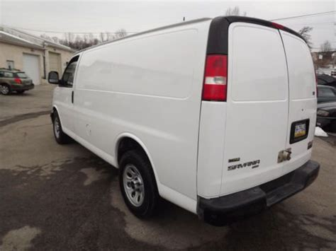 electric and cars manual 2009 gmc savana parking system purchase used gmc savana awd 1500 cargo van all wheel drive rear ac autocheck no reserve