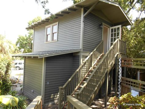 Two Storey Sheds by Two Story Garage With 240 Sq Ft Cottage