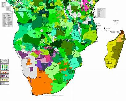 Africa Languages Southern Language Maps Ethnic South