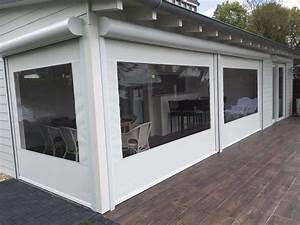 Balkon Windschutz Durchsichtig : wetterschutzrollos g nstig direkt vom hersteller in pl und ~ Markanthonyermac.com Haus und Dekorationen