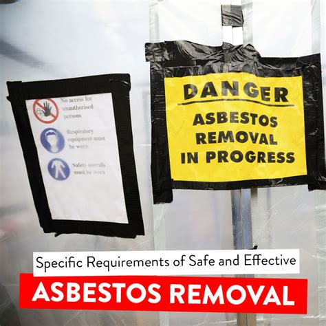 guidelines  safe  effective asbestos removal