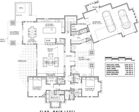 house floor plans luxury lakehouse 9046 4 bedrooms and 4 baths the house designers