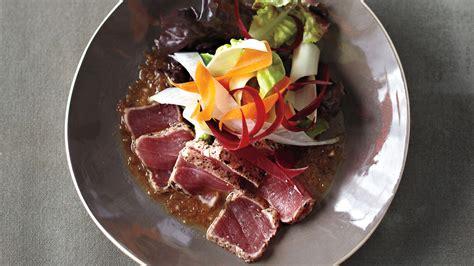 style sashimi salad  matsuhisa dressing