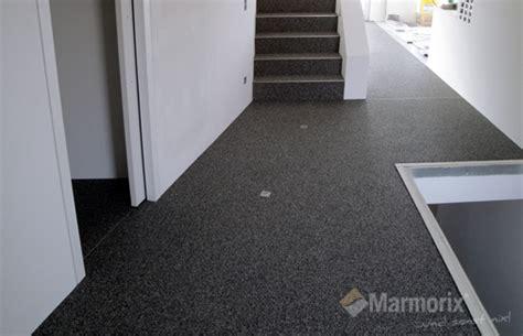 Bodenbeläge Küche Beispiele by Marmorix 174 Steinteppich Verlegebeispiele Innenbereich