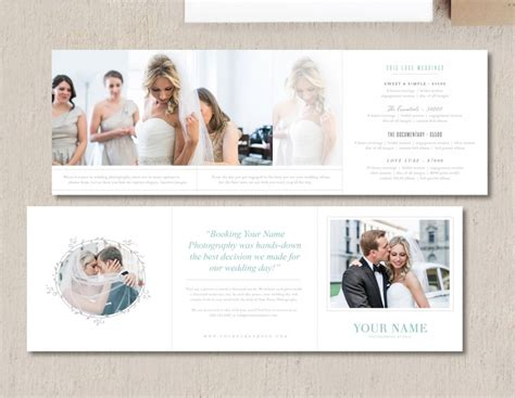 Trifold Template Album Ideas by Modern Photography Price List Template Deals Infoparrot