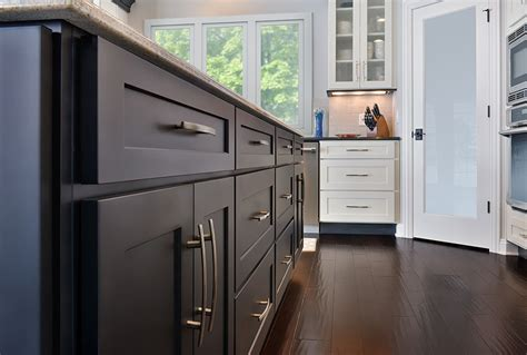 painted shaker style kitchen cabinets open floor plan kitchen design photos cliqstudios 7315