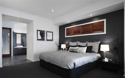 white walls with dark grey feature wall for the hall dark grey feature wall with white trim looks great