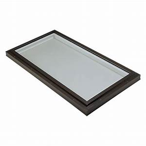 Puit De Lumière Toit Plat : puits de lumi re en verre fixe rona ~ Premium-room.com Idées de Décoration