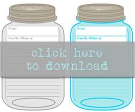 mason jar recipe cards idea  images recipe book