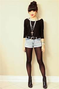 A bit edgy ... I think I might try to pull off this outfit | Iu0026#39;d wear it .. | Pinterest | Black ...