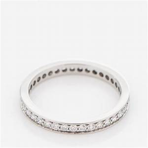 cartier platinum diamond 24mm ballerine wedding band ring With cartier diamond wedding rings