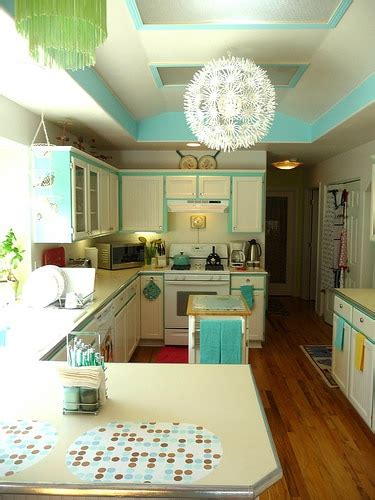 turquoise and green kitchen 20 retro kitchens that i need in my house page 2 of 2 6398