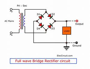 Working Principle Of Unregulated Power Supply In Simple Ways