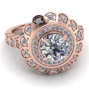 Expensive Rose Gold Engagement Ring