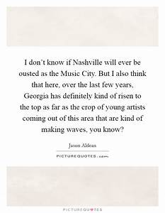 I don't know if Nashville will ever be ousted as the Music ...