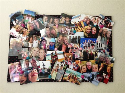 photo board   fabric   cork board  ribbon
