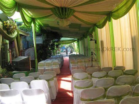 foto dekorasi terop pernikahan pelaminan tenda  rek