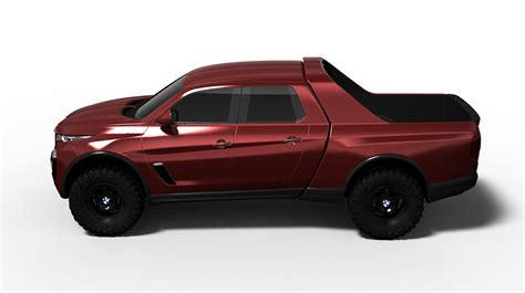 bmw pickup truck ute rendered worthy mercedes x class