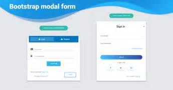 bootstrap modal form exles tutorial basic