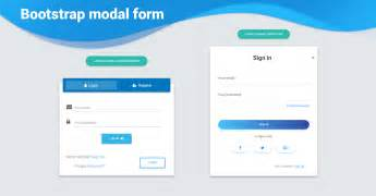 bootstrap modal form examples tutorial basic