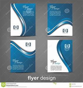 Set Of Business Flyer Template, Corporate Banner Or Cover ...
