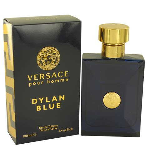 versace pour homme blue by versace eau de toilette spray 3 4 oz for ebay