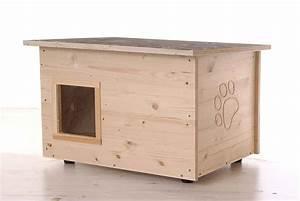 Katzenhaus Selber Bauen : katzenhaus mit heizung und klappe fertig kaufen oder ~ A.2002-acura-tl-radio.info Haus und Dekorationen