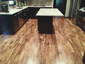 acacia wood flooring Spaces Contemporary with Asian Walnut