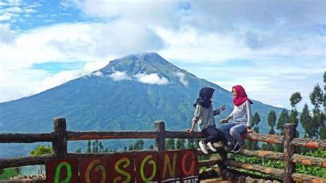 wow wisata posong temanggung suguhkan panorama  gunung