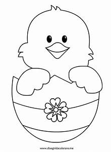 easter chick coloring pages and coloring on pinterest With easter picture templates