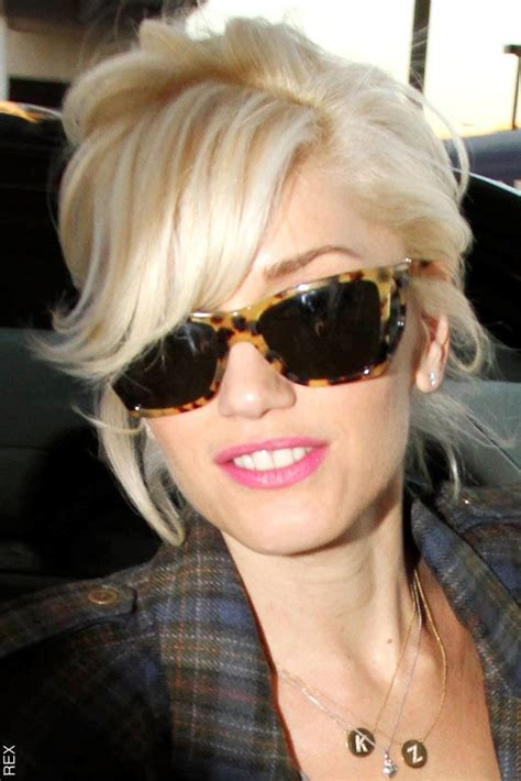 Shades Hairstyles by Mid Length Tousled Platinum Up Do With Leopard
