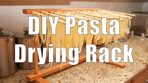 diy pasta drying rack  basic hand tools youtube