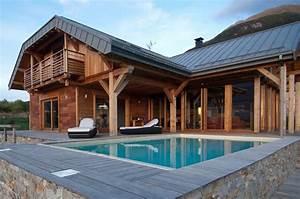 best chalet moderne images ridgewayngcom ridgewayngcom With escalier de maison exterieur 12 beau chalet de ski au montana au design rustique et